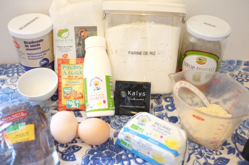 ingredients pour préparer le pain irlandais