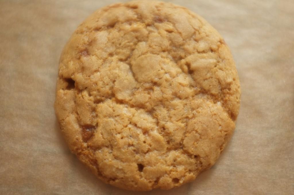on peut voir les goutes du sirop d'érable sur le cookie