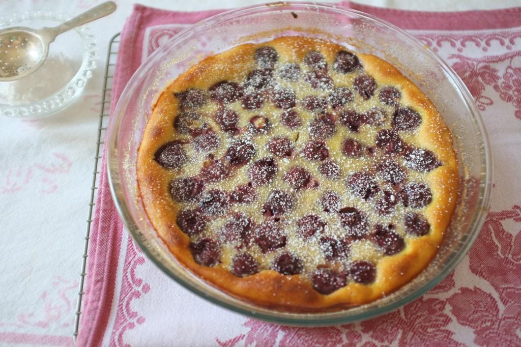 Recette sans gluten de clafoutis aux cerises