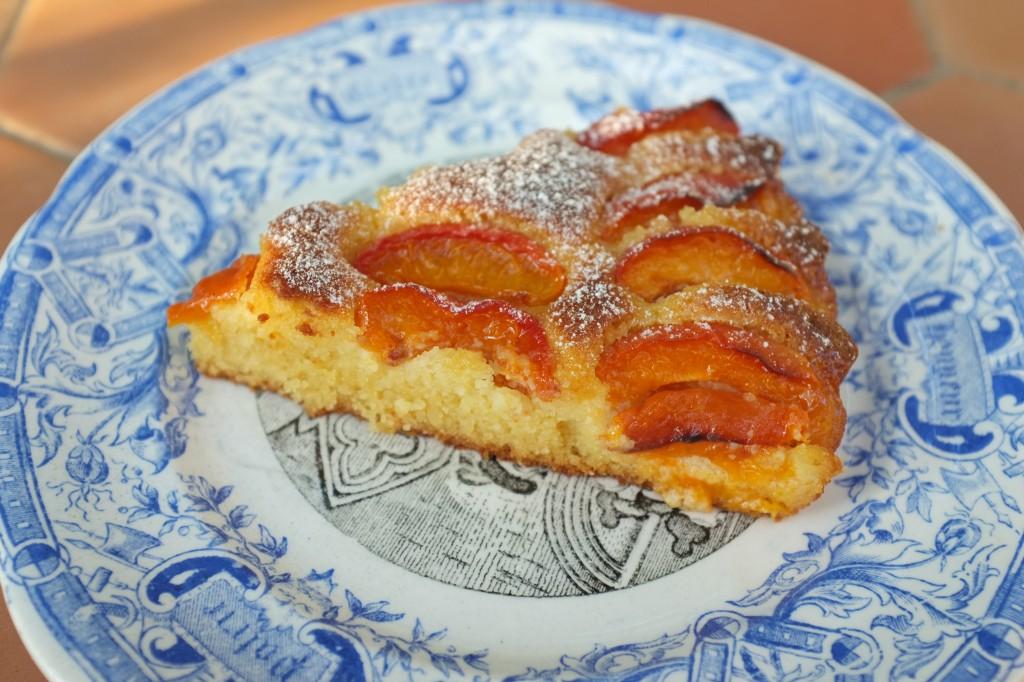 La tarte à l'abricot