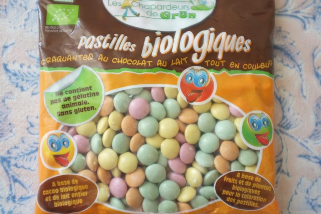 Des pastilles colorées certifiées sans gluten trouvées à Paris