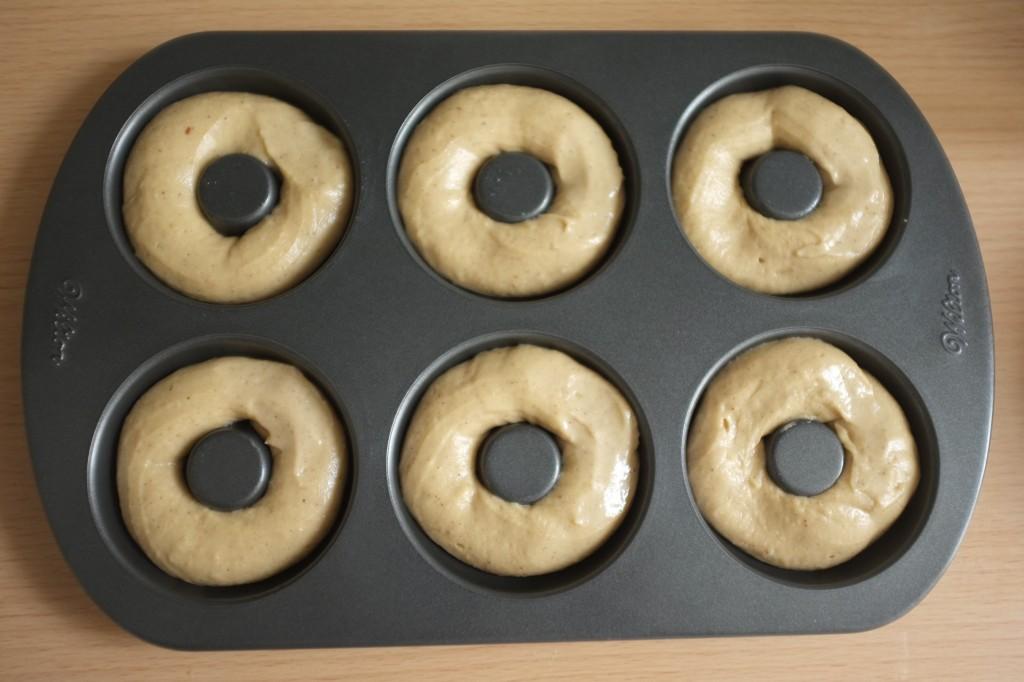 Les donuts avant d'être enfournés