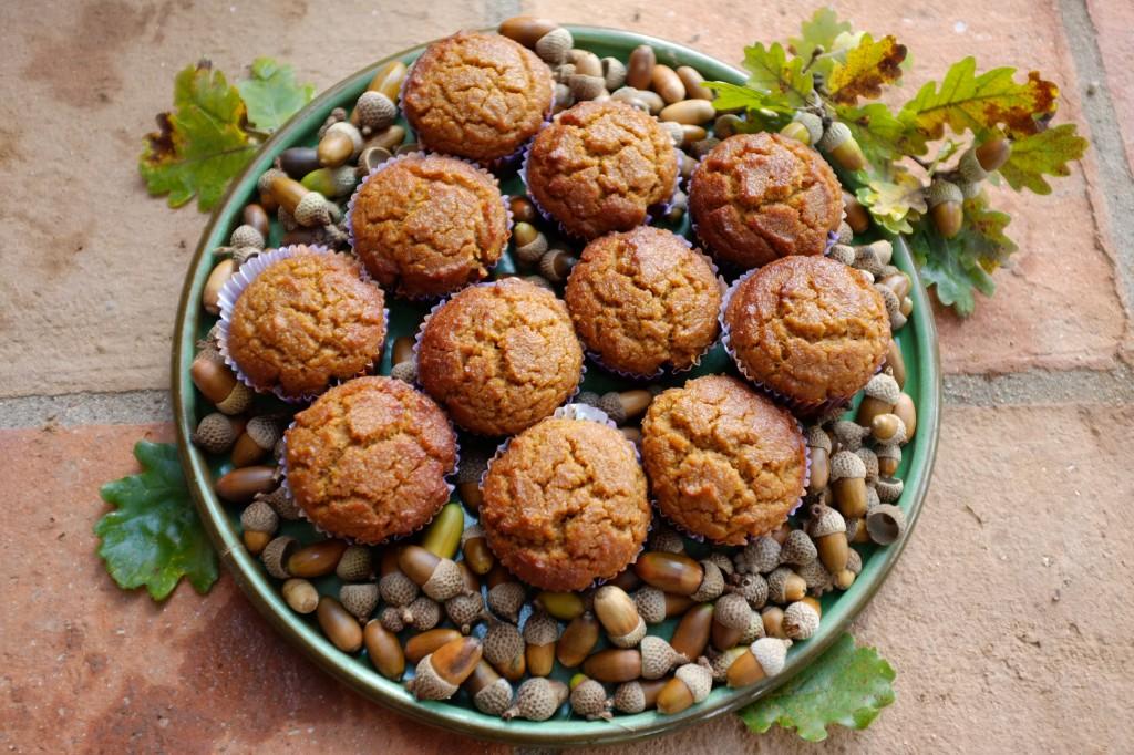 Les muffins au potiron, pour un goûter d'automne