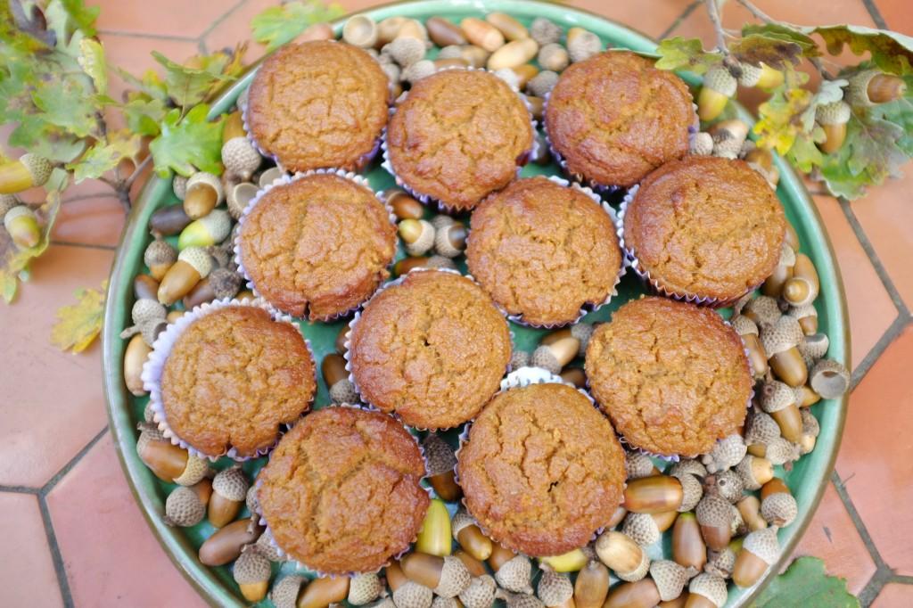 Les muffins au potiron, un délicieux goûter d'automne.