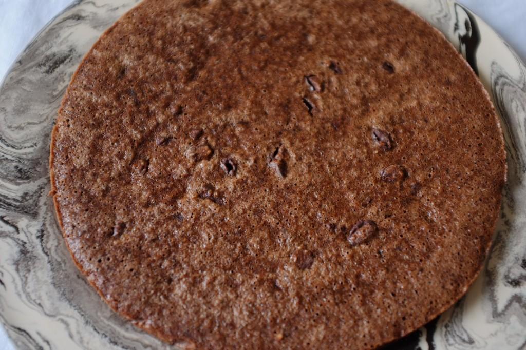 La tarte sans gluten chocolat-noisette-orange