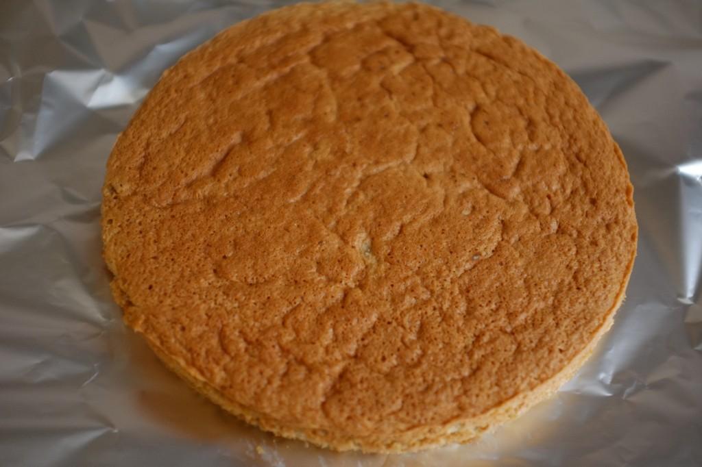 Le beau gâteau sans gluten à la farine de châtaigne