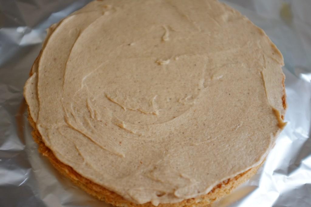 Voilà le premier gâteau prêt !