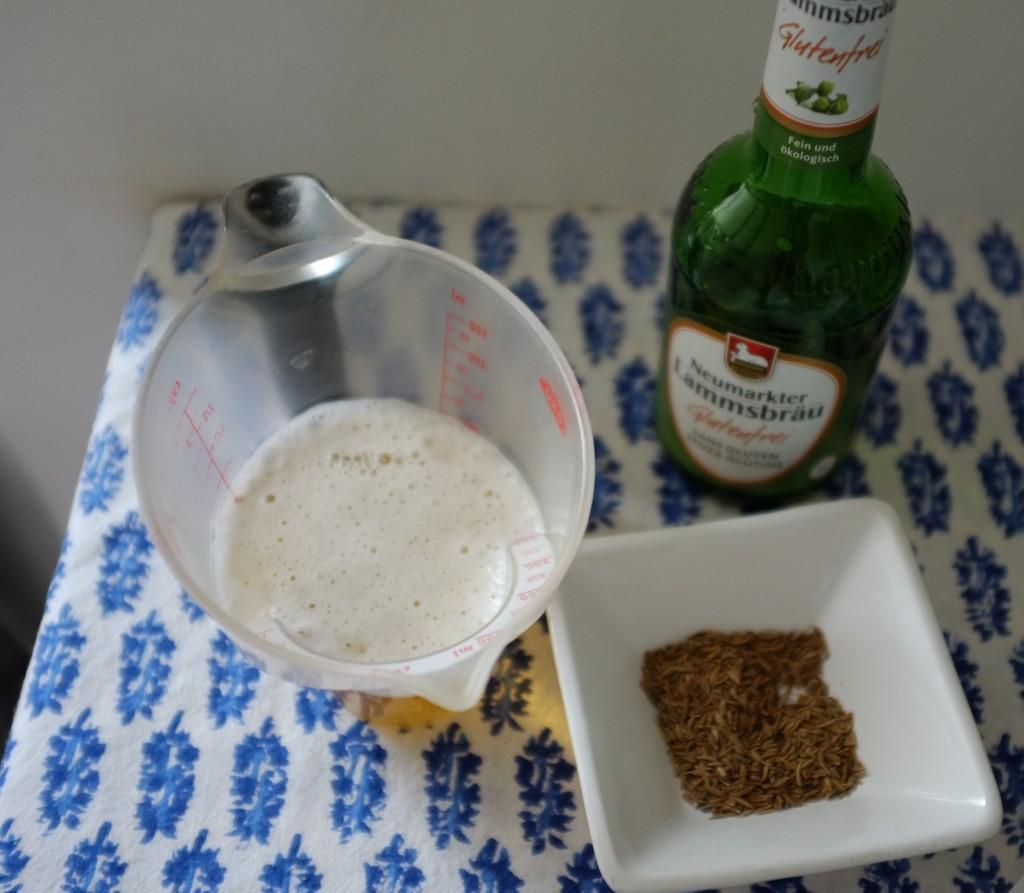 La bière sans gluten et le cumin pour ce pain de St Patrick 2014