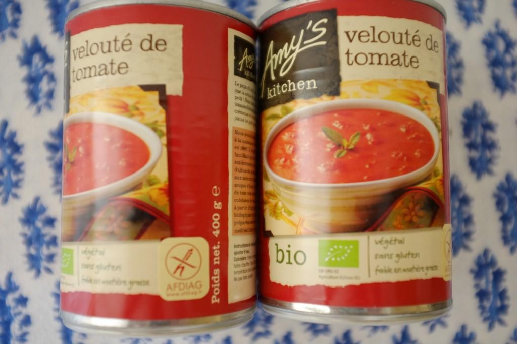 Le velouté à la tomate de Amy's Kitchen: Bio, sans gluten et certifiée par l'Afdiag