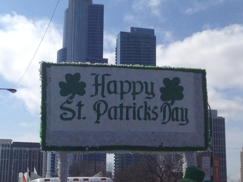 Happy St Patrick, parade du samedi 15 mars 2014