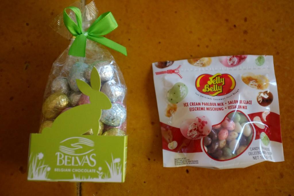 Les bonbons sans gluten pour la décoration des cupcakes pour Pâques