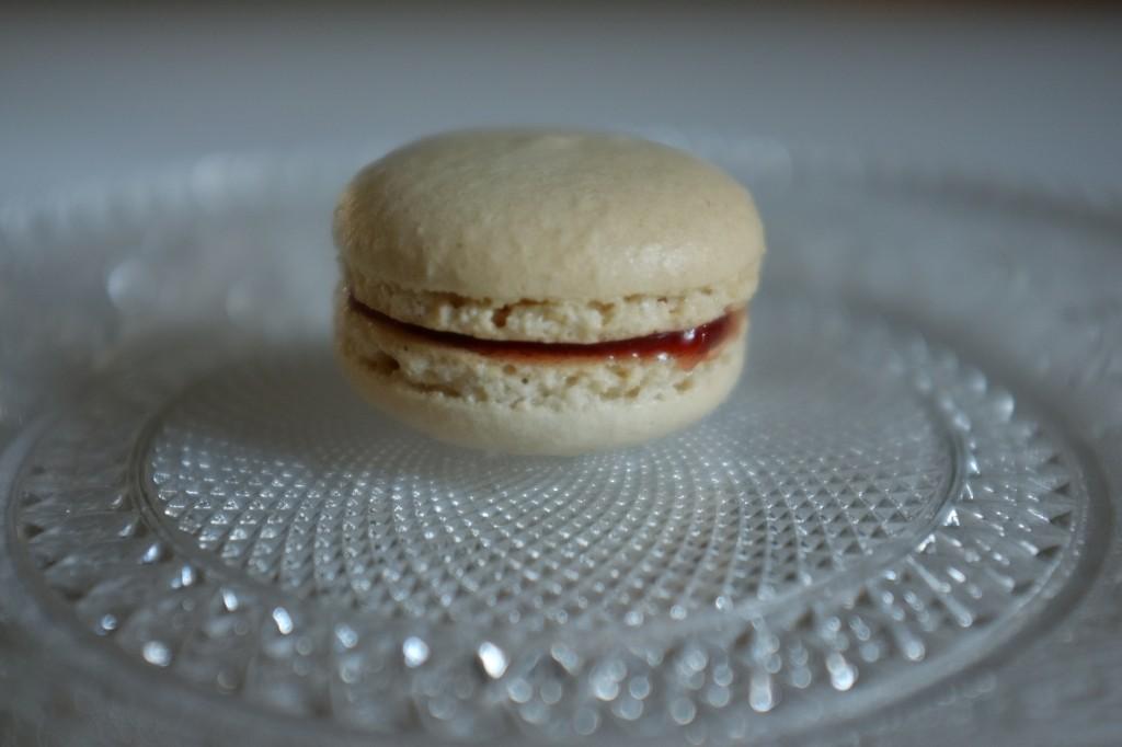 Le macaron à la fraise, petite merveille sans gluten