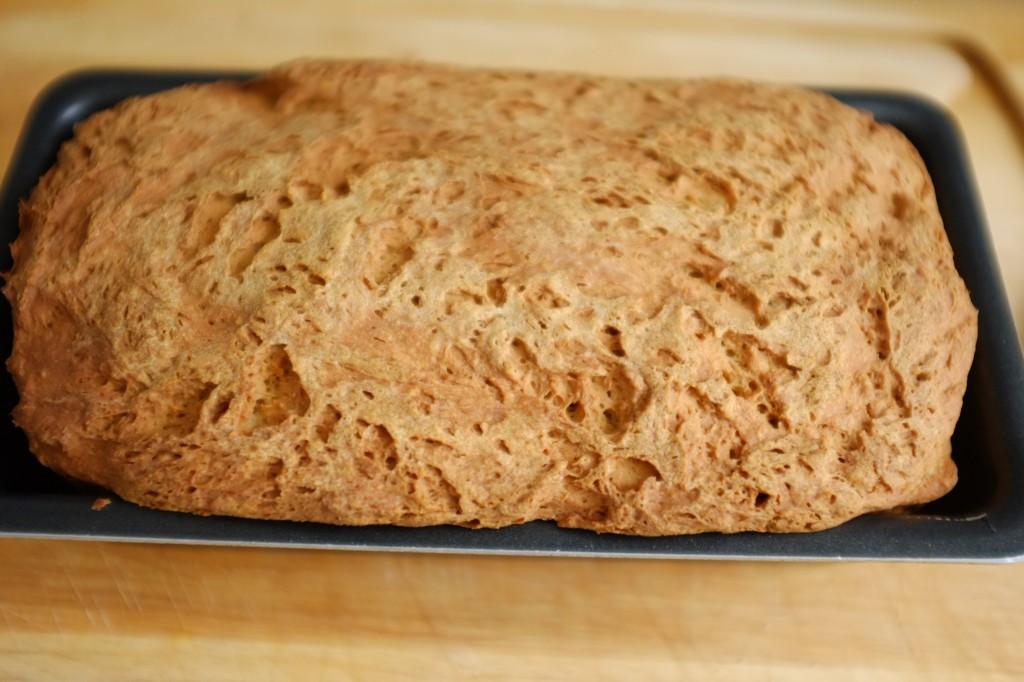 Le pain sans gluten du quotidien à la sortie du four