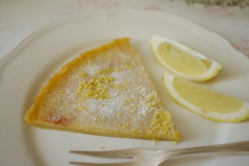 """la crêpe au four sans gluten  aussi appellée """"Dutch baby"""" est traditionnellement au zest de citron"""