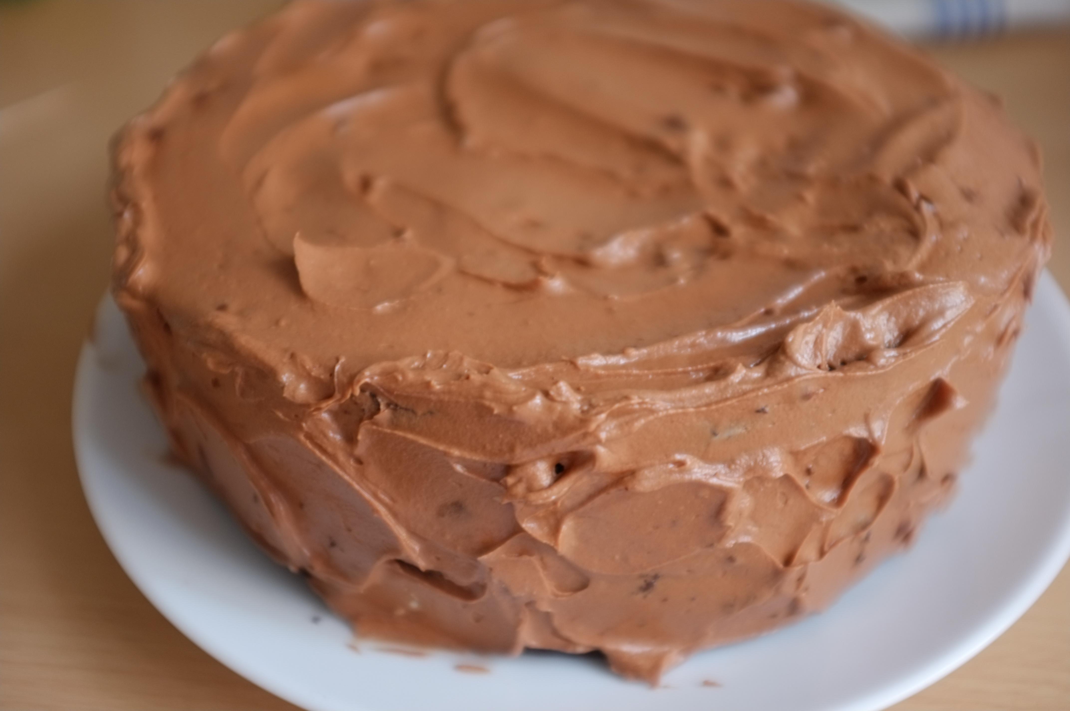 recette sans guten de gâteau deux étages au chocolat et café
