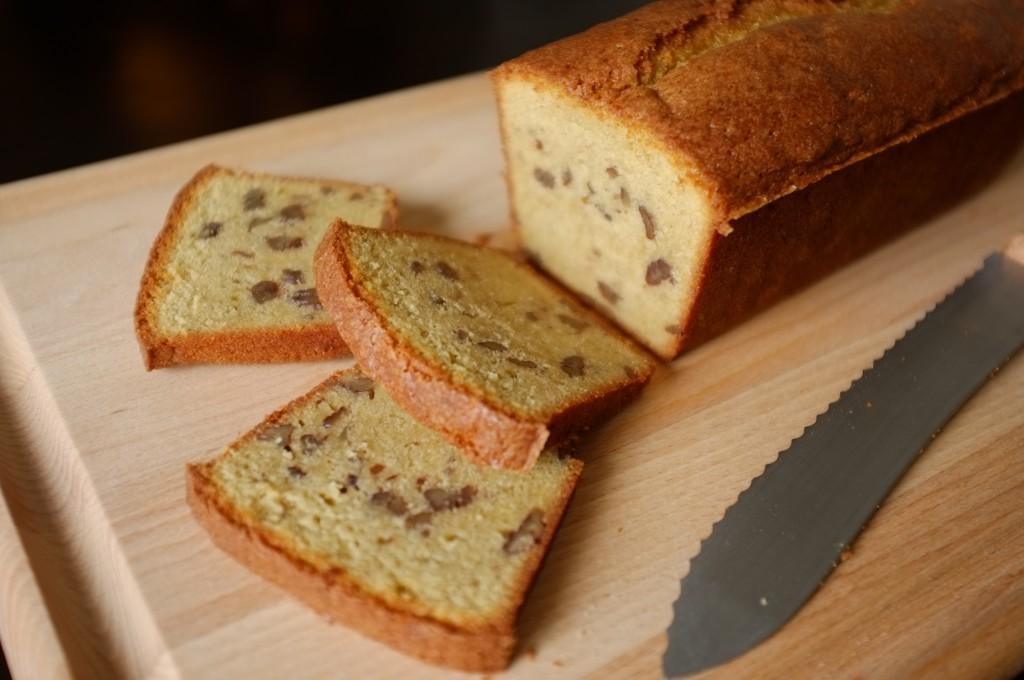 Le cake sans gluten au sirop d'érable et noix de pécan