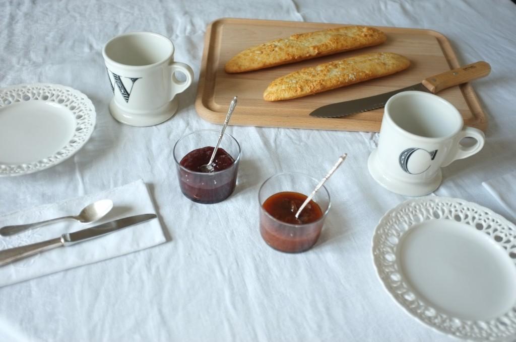 Les petites baguettes sans gluten pour le petit déjeuner