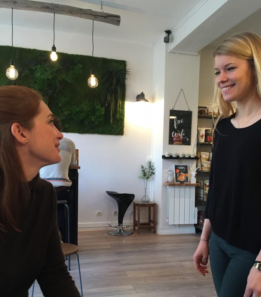 Discussion sur le sans gluten avec la Belle Barbara