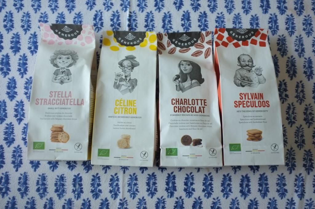Les biscuits generous envoyé depuis Bruxelles.