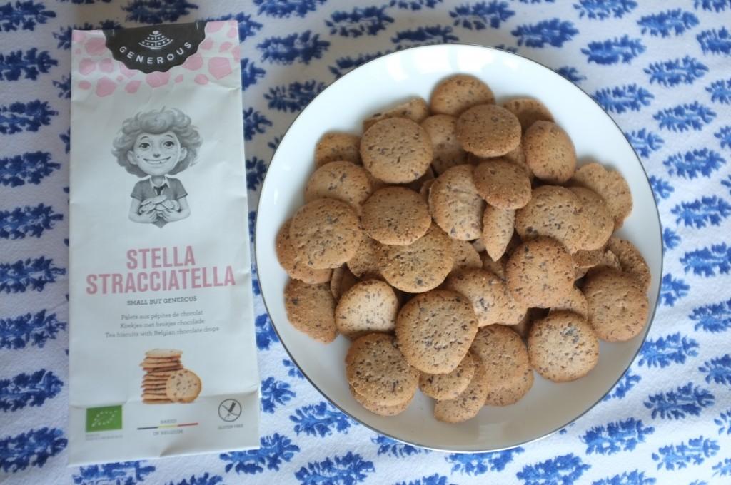 les biscuits Stella Stracciatella