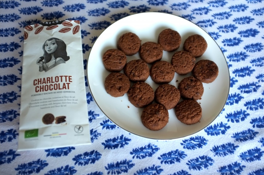 Les biscuits Charlotte chocolat