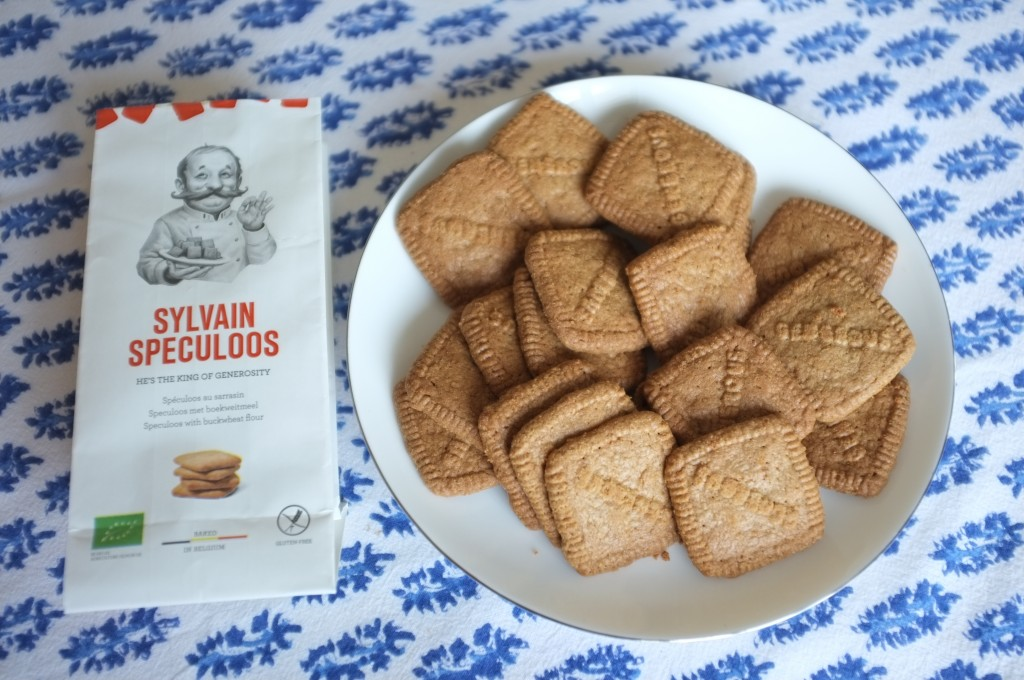 Les biscuits Sylvain Speculoos