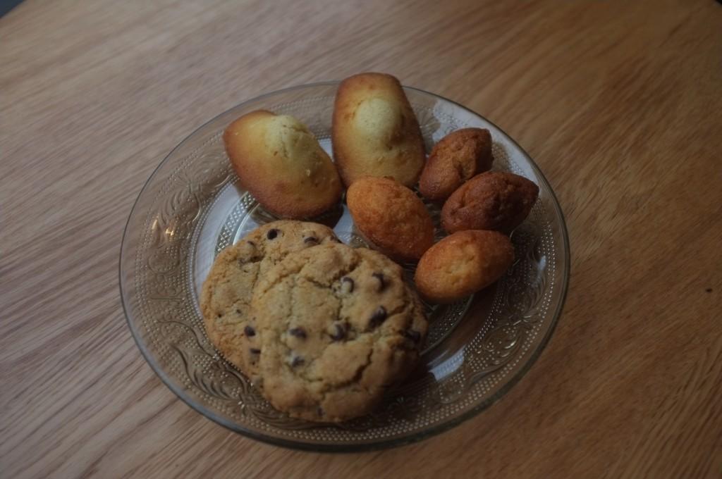 Cookies, madeleines et financiers sans gluten