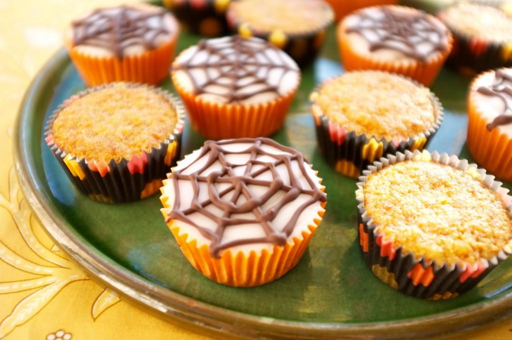 Les muffins sans gluten orange et carotte pour Halloween 2015