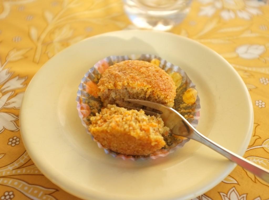 Le muffins orange carotte pour Halloween 2015, complètement fondant