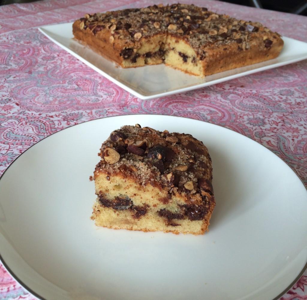 Le gâteau sans gluten chocolat, noisette et cannelle.