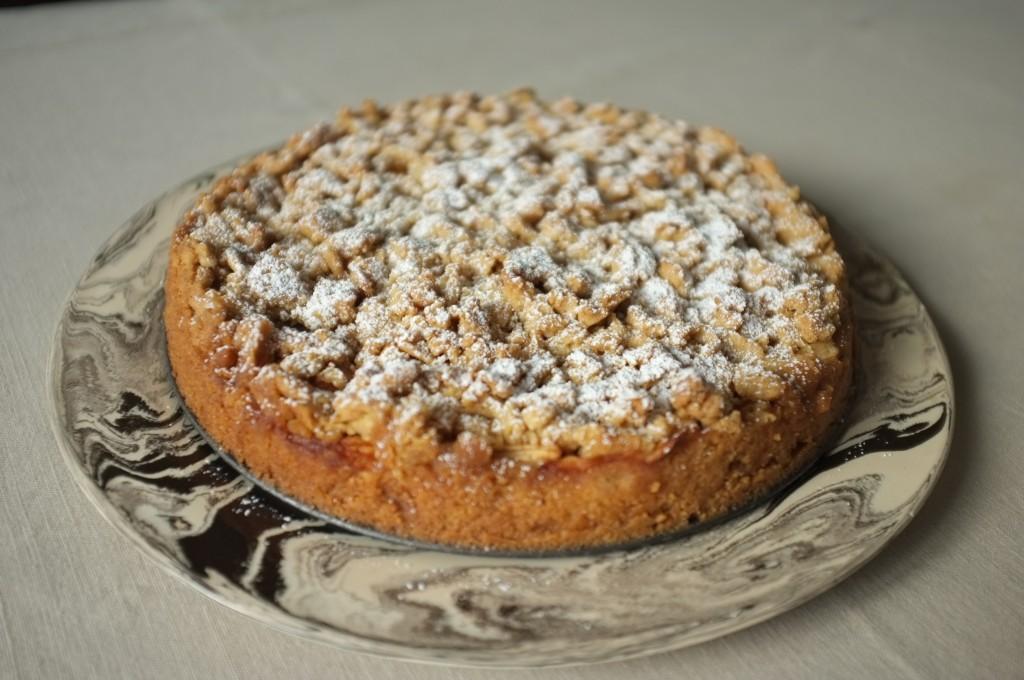 La recette sans gluten de gâteau aux pommes