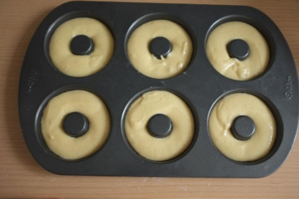 Les donuts sdes Rois sans gluten avant d'être enfournés.