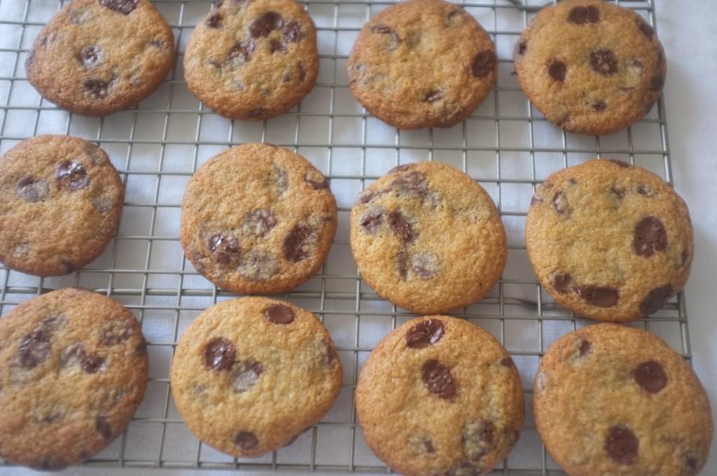 Les cookies sans gluten aux pépites de chocolat de William