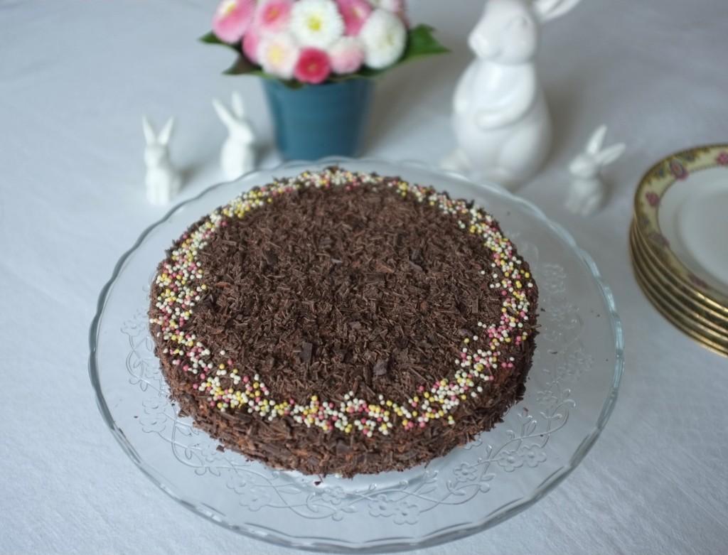 Le gâteau sans gluten au chocolat pour notre Pâques 2016