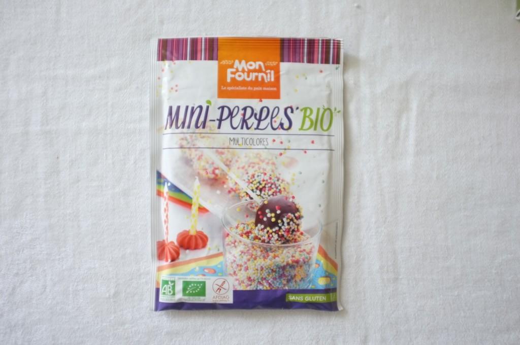 Les mini perles colorées Bio et certifiées sans gluten