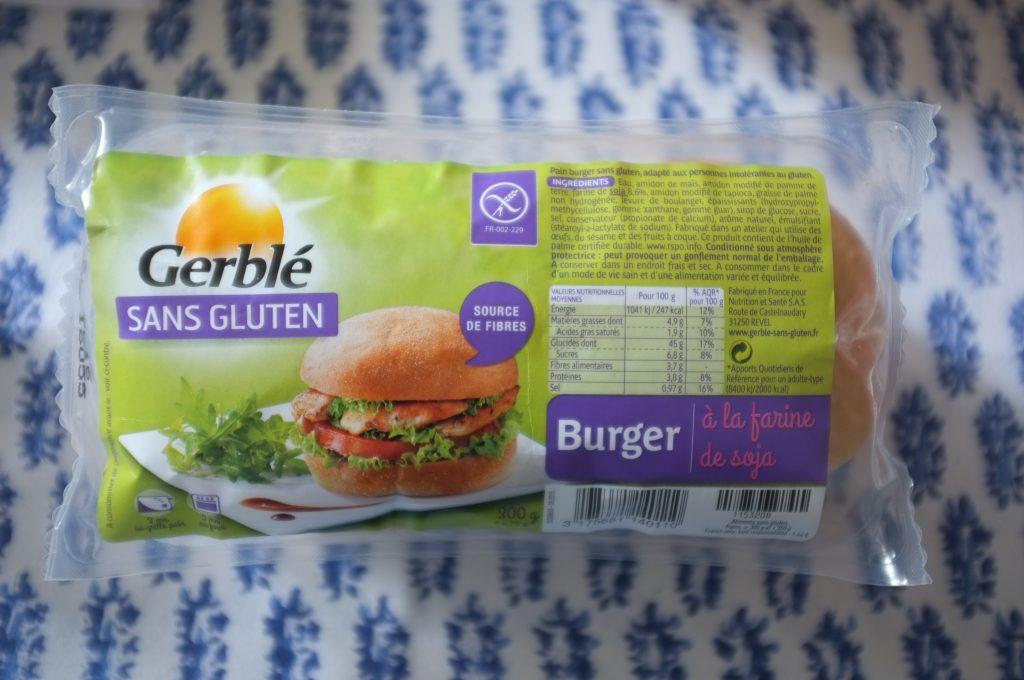 Les pains pour burger sans gluten de Gerblé Sans Gluten