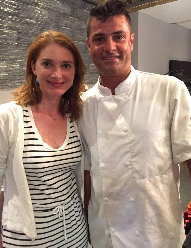 Avec Stephane, le chef qui réalise les délicieuses pizza