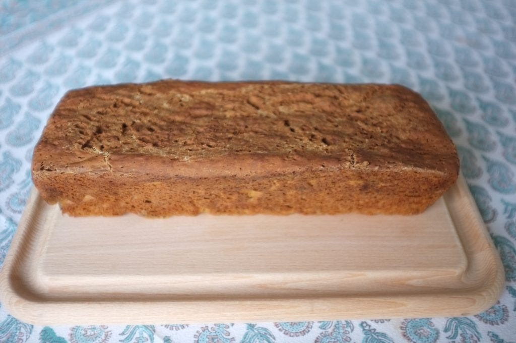 Le pain sans gluten à la farine de teff