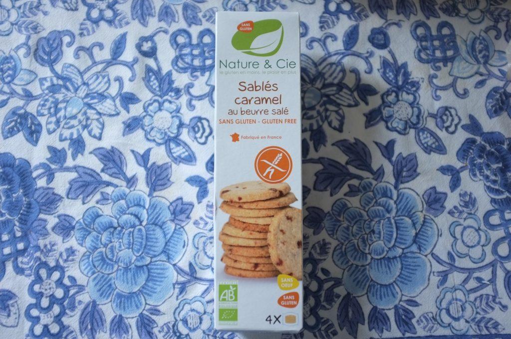 Les biscuits sablés caramel au pépites de caramel au beurre salé.