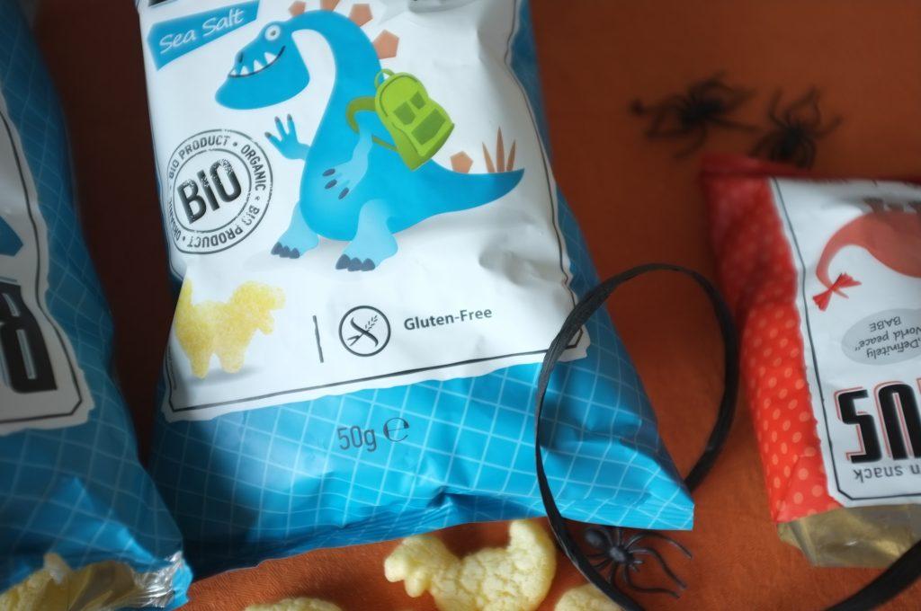 """Oh que j'aime ce mot """"glutenfree"""" écrit bien en évidence sur le paquet, à côté du logo de l'épis barré."""